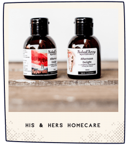 NakedCherry His and Hers Homecare Products